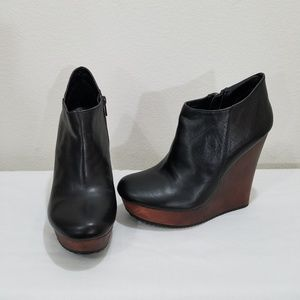 Aldo Ankle Wedge Boots